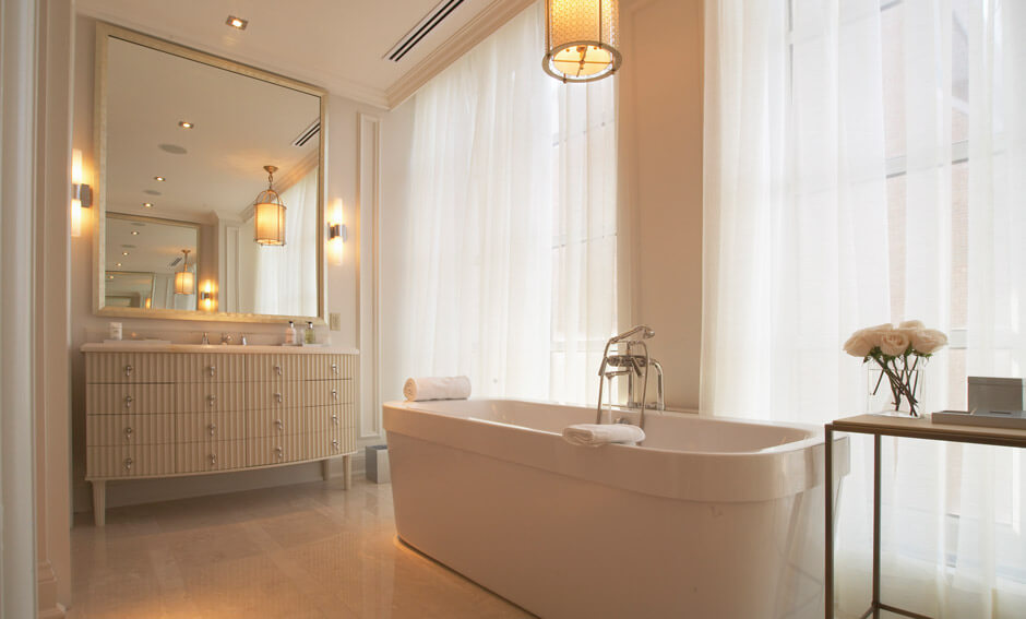 The Hazelton Residences bathroom