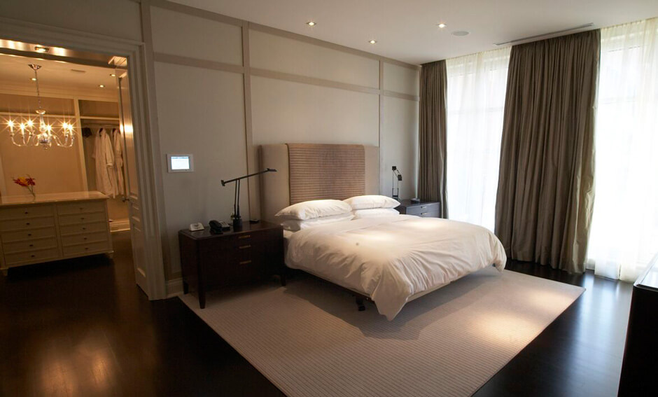 The Hazelton Residences bedroom