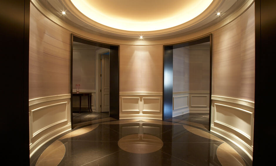 The Hazelton Residences grand foyer