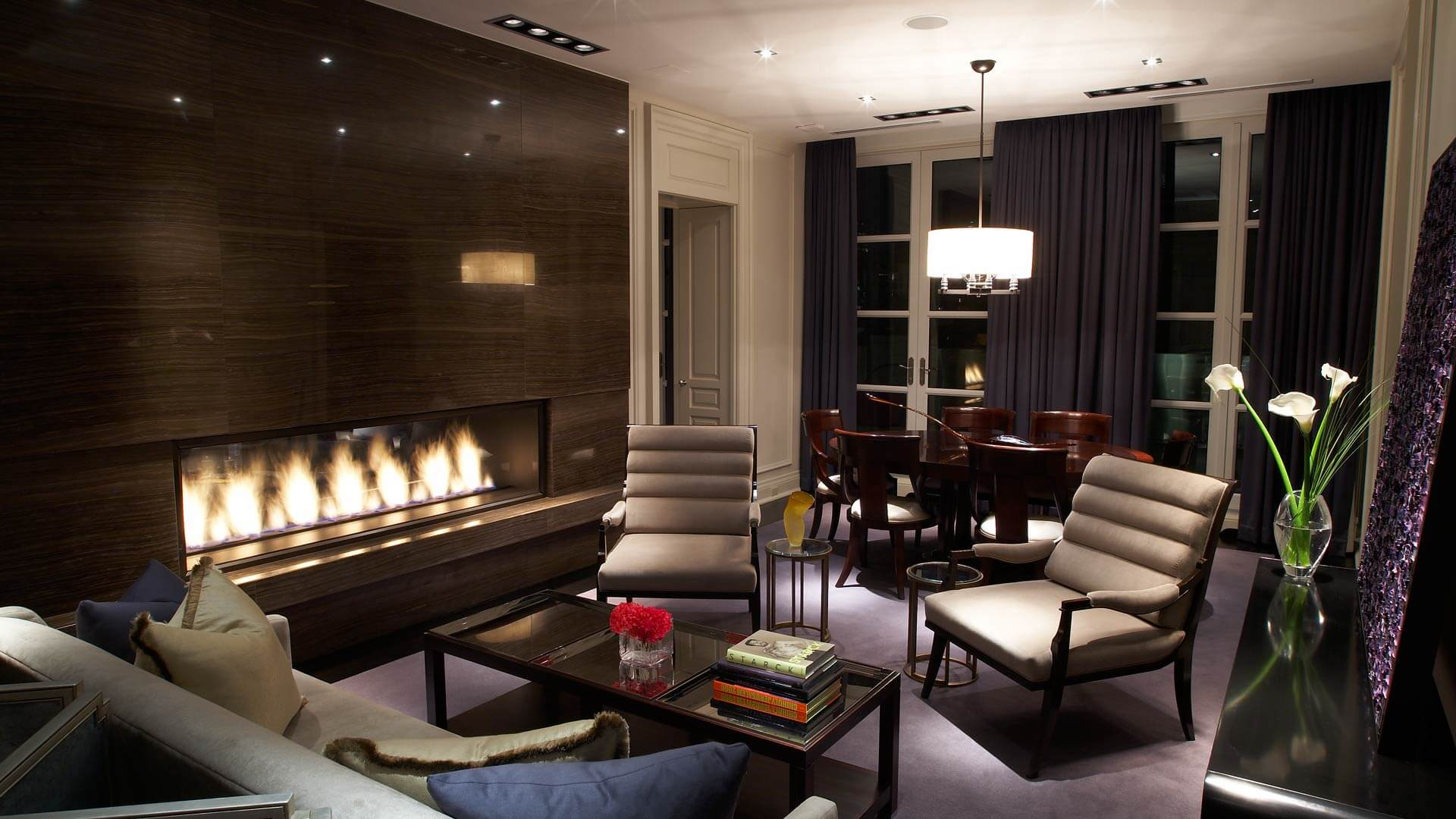 The Hazelton Residences living area