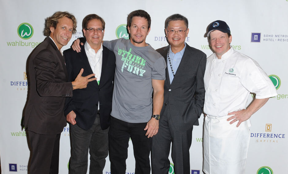 Wahlburgers founding partners, Paul and Mark Wahlberg